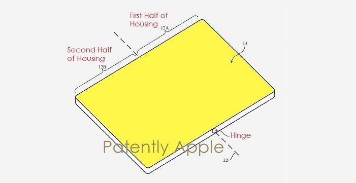 Aparece una nueva patente del futuro iPhone flexible