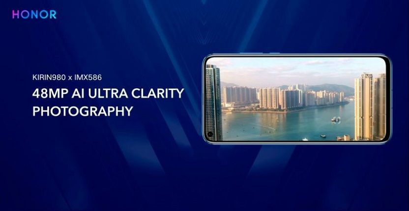 Camara 48 MP Honor View 20