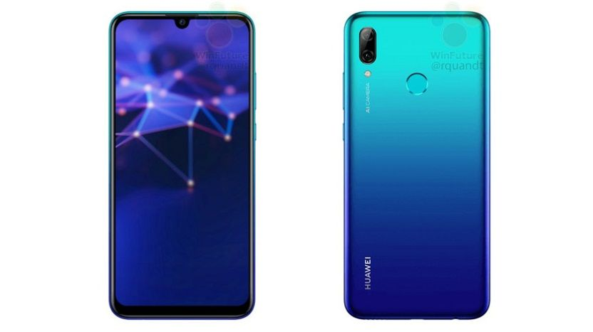 Huawei P Smart 2019 color azul