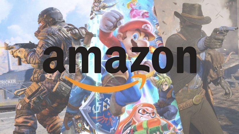 Amazon streaming videojuegos