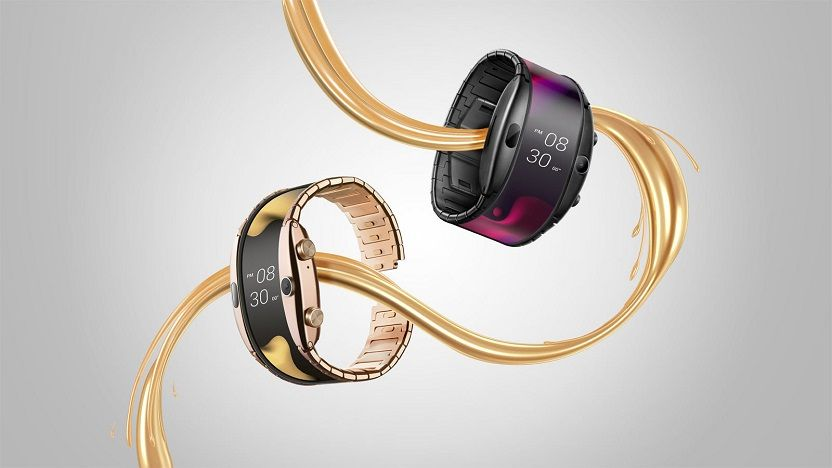 Nubia Alpha smartwatch con pantalla flexible