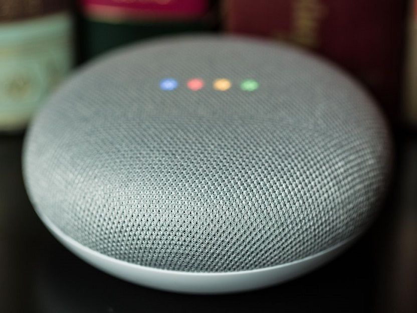 Cambiar colores Google Home Mini