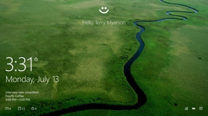 Sistema de Windows Hello con certificación FIDO